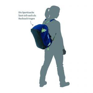 ergobag satch sporttasche leder mei ner. Black Bedroom Furniture Sets. Home Design Ideas