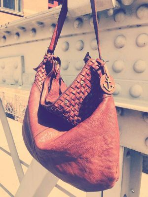 Harbour2nd Leder Tasche cognac