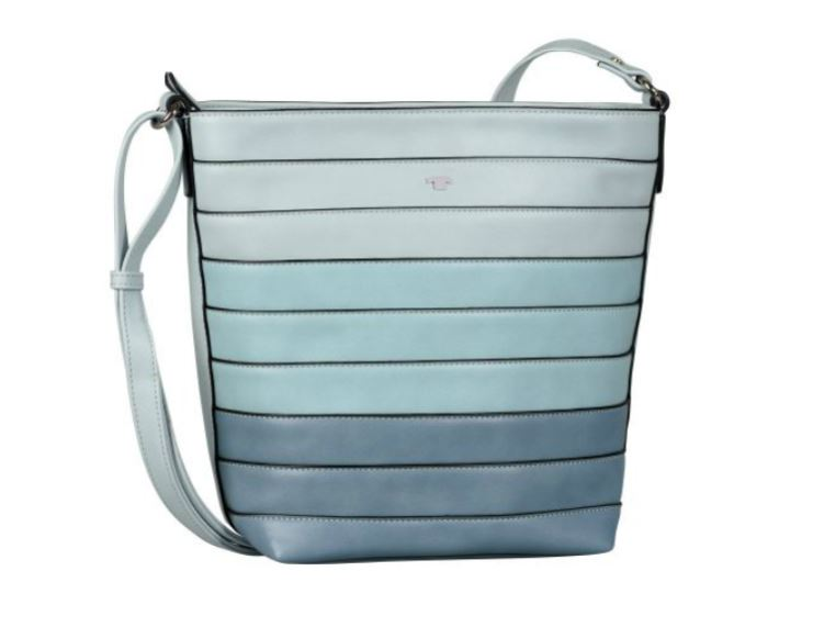 the latest 30c9e ffd95 Tom Tailor April Hobo Bag Light Blue - Leder Meißner